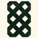 HDPE lattice - Hole: 27 mm - Green