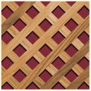 R/222-MH Square 20 mm. Inclined - Wood lattice