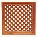Framed lattice CE-46/46 - Teak