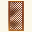 Framed lattice CE-92/46 - Teak