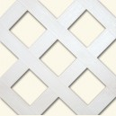 HDPE lattice - Hole: 70 mm - White
