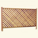 Framed lattice R/224 Horizontal (Entire) - For outdoor fencing
