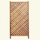 Framed lattice R/224 Vertical (Entire) - For outdoor fencing