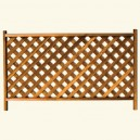 Framed lattice R/226 Horizontal (Entire) - For outdoor fencing