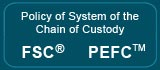 Policy of sistem of the Chain of Custody